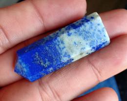 43 CT LAPIS LAZULI PENCIL Natural Gemstone VA917