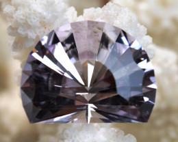 """Améthyste """"Rose de France"""" 37.11 carats - Bolivie -- Taillé en France - Qua"""