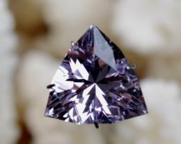"""Améthyste """"Rose de France"""" 5.92 carats - Bolivie -- Taillé en France - Qual"""