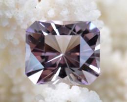"""Améthyste """"Rose de France"""" 19.71 carats - Bolivie -- Taillé en France - Qua"""