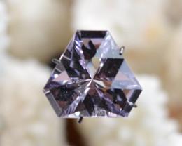 """Améthyste """"Rose de France"""" 7.28 carats - Bolivie -- Taillé en France - Qual"""