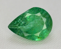0.80 Ct Brilliant Color Natural Zambian Emerald