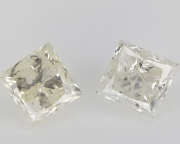 2/0.21 CT , White Natural Diamonds , Diamonds For Jewelry