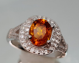 21CT MADEIRA CITRINE 925 SILVER SIZE 7 BEST QUALITY GEMSTONE IIGC44