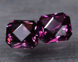 Spinel 1.47Ct VVS Master Cut Natural Burmese Purple Color Spinel BT0347