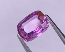 1.39 Cts Unheated AAA Quality Natural Pink Sapphire Fine Luster