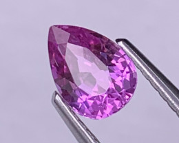 Fine Grade Unheated Hot Pink 0.89 Cts Natural Sapphire