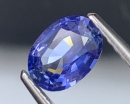 1.01 Cts AAA Grade Cornflower Blue Sapphire Unheated/Untreated