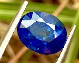2.38 ct Blue sapphire 100% Natural gemstone