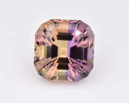 Natural Bolivian Ametrine 11.93 Cts Perfectly Cut Gemstone