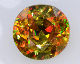 Rare AAA Astonishing Fire 1.75 ct Chrome Sphene
