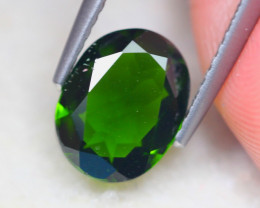 1.78ct Natural Chrome Diopside Oval Cut Lot D426