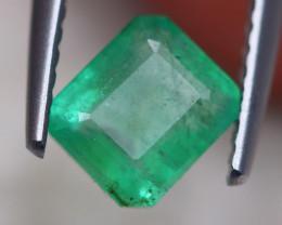 1.08ct Natural Zambia Green Emerald Lot D429