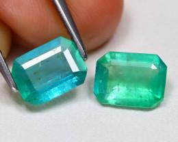Zambian Emerald 2.24Ct Octagon Cut Natural Green Color Emerald BT0351