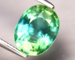Apatite 2.15Ct Natural Paraiba Green Color Apatite DF1118/B44