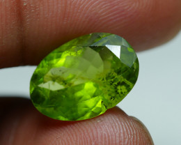 7.055 CRT AWESOME NATURAL PERIDOT STUNNING COLOR-