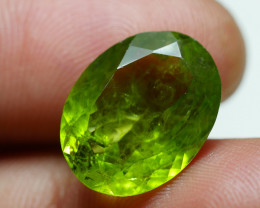 8.825 CRT AWESOME NATURAL PERIDOT STUNNING COLOR-