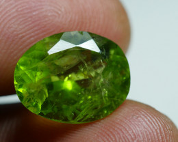 7.550 CRT AWESOME NATURAL PERIDOT STUNNING COLOR-