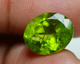 7.225 CRT AWESOME NATURAL PERIDOT STUNNING COLOR-