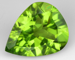 2.73Ct Burma Peridot Excellent Color and Luster Gemstone PR2