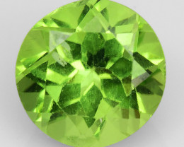 2.25Ct Burma Peridot Excellent Color and Luster Gemstone PR9