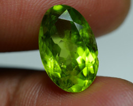 6.135 CRT AWESOME NATURAL PERIDOT STUNNING COLOR-
