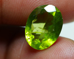 5.320  CRT AWESOME NATURAL PERIDOT STUNNING COLOR-