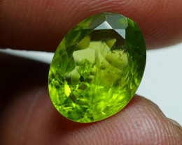 5.670 CRT AWESOME NATURAL PERIDOT STUNNING COLOR-