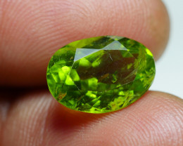5.490 CRT AWESOME NATURAL PERIDOT STUNNING COLOR-