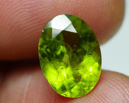 4.255 CRT AWESOME NATURAL PERIDOT STUNNING COLOR-