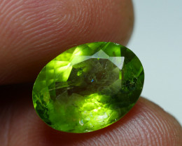 4.845 CRT AWESOME NATURAL PERIDOT STUNNING COLOR-
