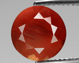 3.44 Cts Amazing Rare Natural Red Color Andesine Loose Gemstone