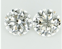 2/0.38 ct , Natural Light Yellow Diamonds , Diamonds For Jewelry