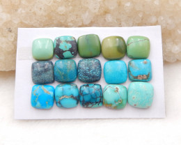 32cts Lucky Turquoise ,Handmade Gemstone ,Turquoise Cabochons ,Lucky Stone