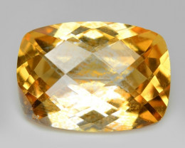 6.16 Cts Rare Fancy Yellow Color Natural Mystic Topaz