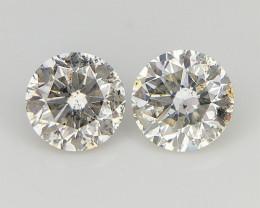 2/0.32 CTS , Natural Round Diamonds , Loose Round Diamonds