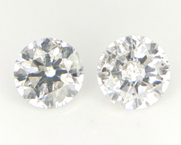 2/0.23 CTS , Natural Yellow Diamonds , Round Brilliant Cuts