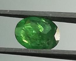 Tsavorite, 0.575ct, unique colour, very nice little stone!!