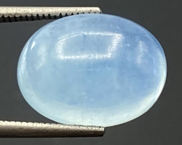 6.20Ct Aquamarine Excellent Color Beautiful Quality Cabochon.AQC 28
