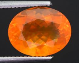 Rare 3.93 ct Mexican Fire Opal SKU.9