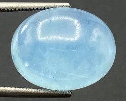 8.92Ct Aquamarine Excellent Color Beautiful Quality Cabochon.AQC 31