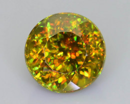 Rare AAA Fire 1.35  ct Chrome Sphene Sku-59
