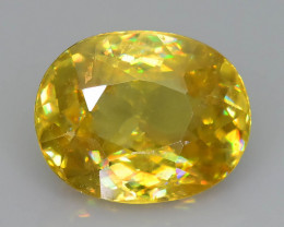 Rare AAA Fire 2.34 ct Sphene Sku-58