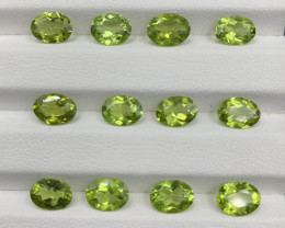 15.07 ct Peridot Gemstones parcel