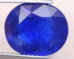 8.43ct  Ceylon Blue Sapphire Oval Cut Lot B2656