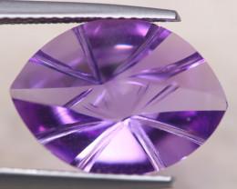 5.85ct Natural Purple Amethyst Fancy Cut Lot A1182