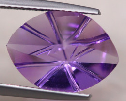 5.04ct Natural Purple Amethyst Fancy Cut Lot D406