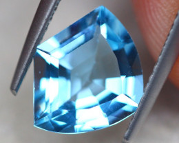 2.76ct Natural Blue Topaz Fancy Cut Lot D408