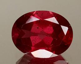 1.89Crt Rhodolite Garnet  Natural Gemstones JI20