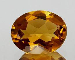 1.47Crt Madeira Citrine Natural Gemstones JI20
